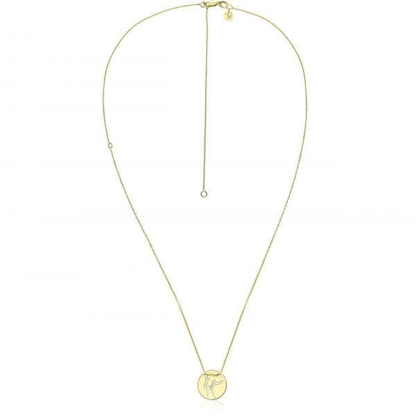 Versatile 14k gold necklace